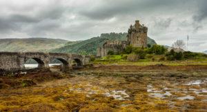 Eilean Donan Castle by Barry Quatermass 14 poits - 3rd place