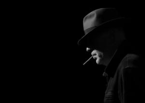 Film Noir Portrait of Graham Currey -chosen as best of the bunch!