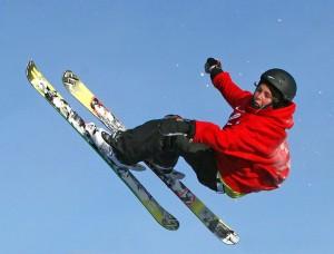 Skier In theAir