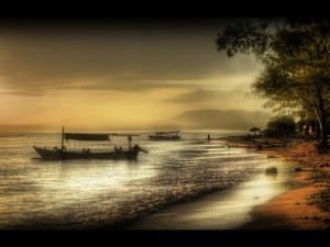 Gili Meno at dawn