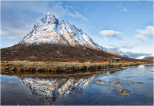 Buchaille Etive Mor by Margaret Sixsmith - 14 points