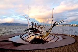 Sun-Voyager,-Reykjavik