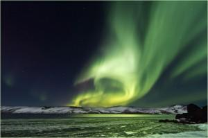 Northern-Lights,-Iceland